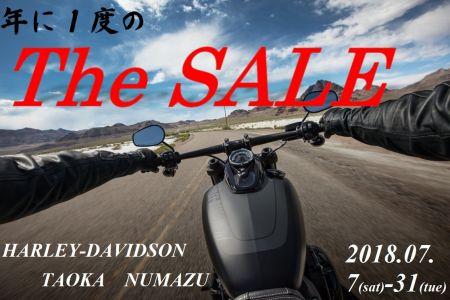 年に一度の「The SALE」開催!