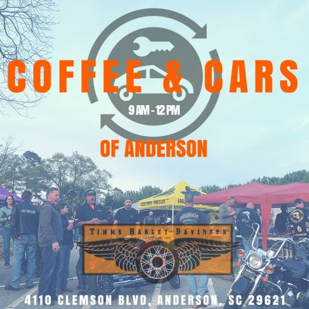 Coffee Cars Of Anderson Timms Harley Davidson