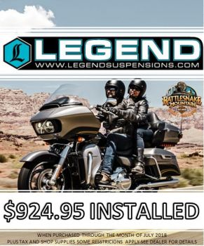 Legends Sturgis Promo