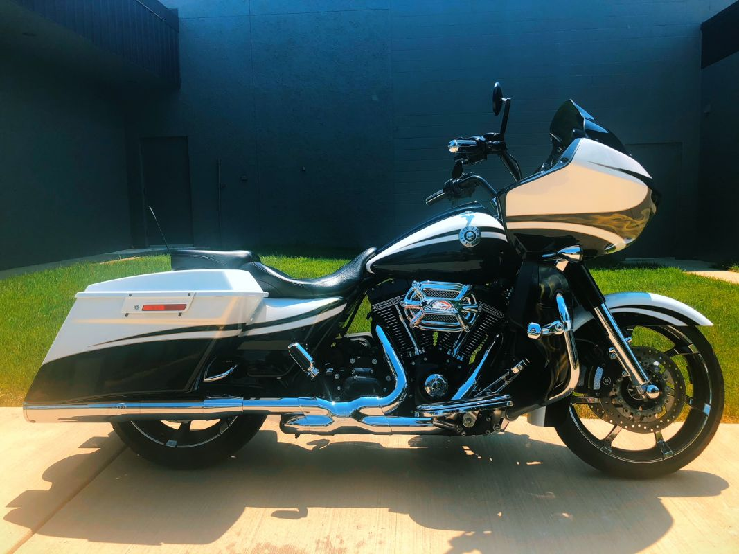 2012 FLTRXSE CVO ROAD GLIDE CUSTOM WAS 26999