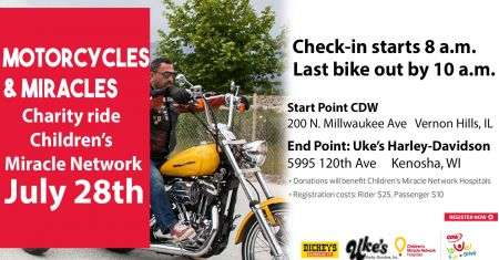 CDW Ride for Children's Miracle Network