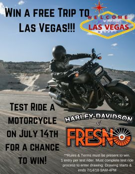 Test Ride & Win!