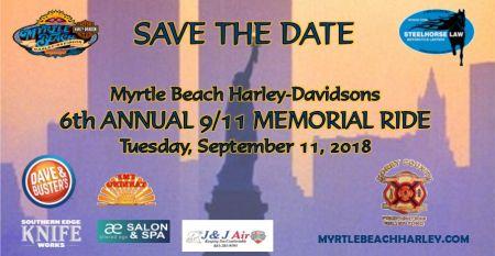 6th Annual 9/11 Memorial Ride