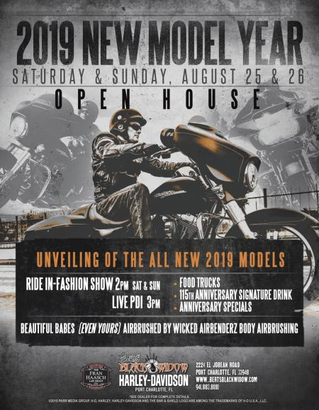 2019 New Model Year Open House