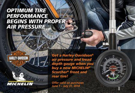 Michelin® Scorcher® Retail Tire Promotion