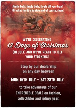 12 Days of Christmas (in July!)
