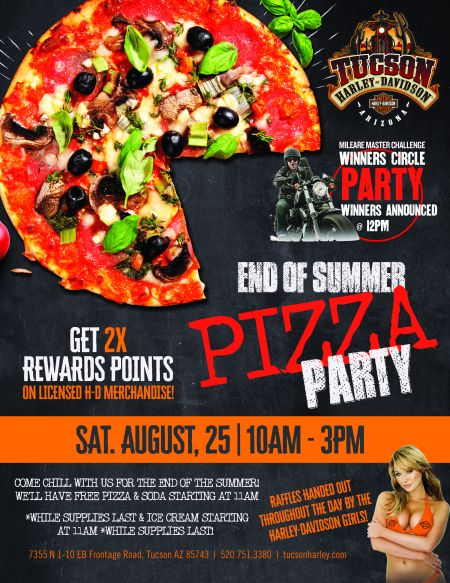 End of the Summer Pizza Party