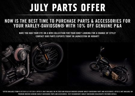 July at Richardson's Harley-Davidson