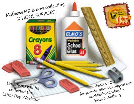 Donate School Supplies Event