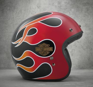 New Retro Flame 3/4 Helmet