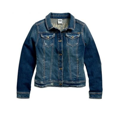d1a7acce1071 DENIM JACKET | Click & Collect | Harley-Davidson® Gold Rand