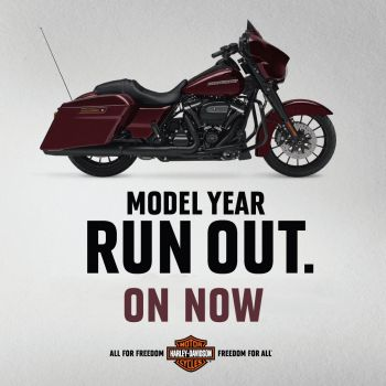 Model Year Runout - Now On!
