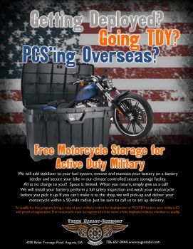 Free Storage for Active Duty Military