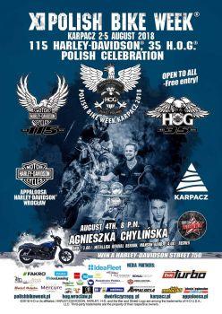 XI Polish Bike Week® Karpacz 2018 / Godziny otwarcia salonu Sierpień