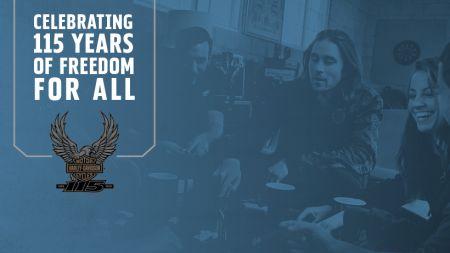 Harley-Davidson 115th Anniversary Kick-Off Party