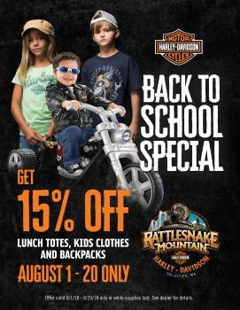 RMHD Back To School Special