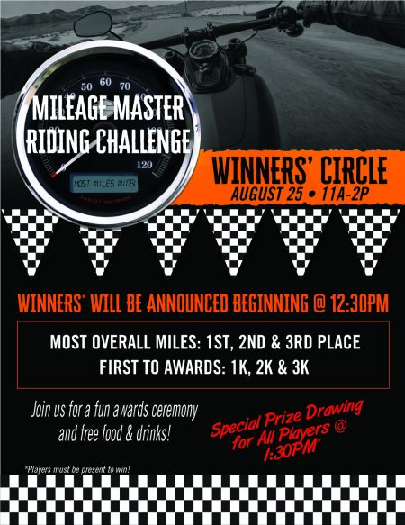 Mileage Master Winners' Circle