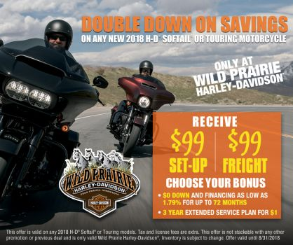 Double Down on Saving Touring & Softails
