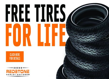 ***FREE TIRES FOR LIFE***