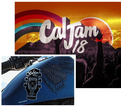 CAL JAM 18, FOO FIGHTERS, AND H-D