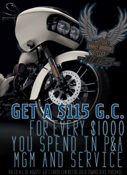 Get $115 when you spend $1000