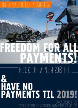 No Payments til 2019!