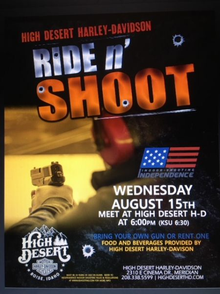 High Desert Harley Davidson Ride & Shoot