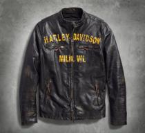Men's Forge Slim Fit Leather Jacket
