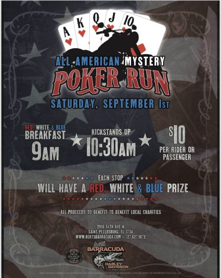 All American Mystery Poker Run