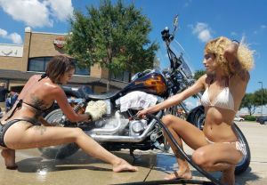 Bikini Bike Washes
