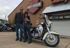 Dan and Katie and their CVO Ultra!
