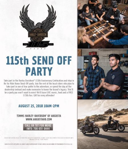 115th Anniversary Send Off Party