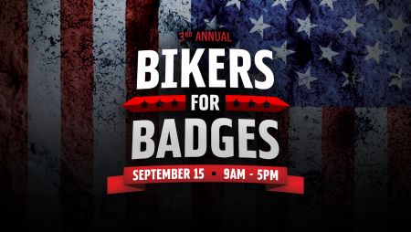 3rd Annual Bikers For Badges