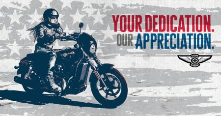 2018 Military and First Responders Learn to Ride Offer