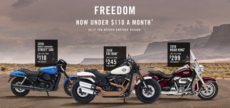 Freedom under $110 a month