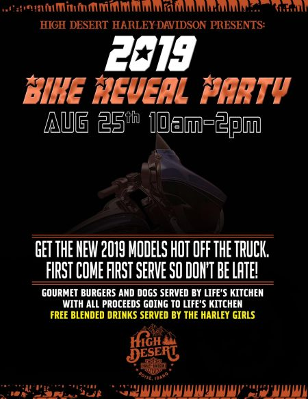 2019 Bike Reveal Party