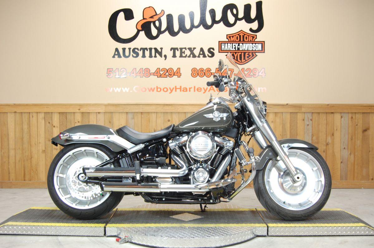 2018 Harley-Davidson FLFB Fat Boy
