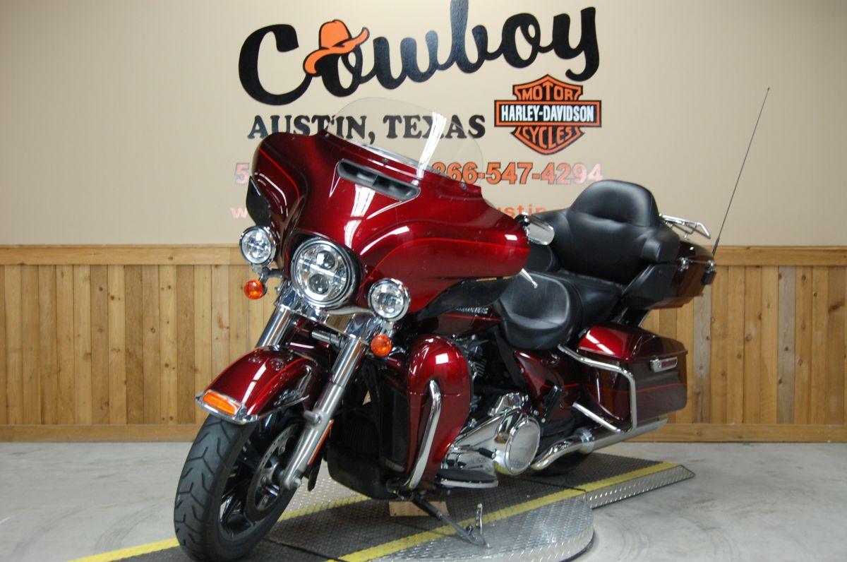 2017 Harley Davidson Flhtk Cowboy Of Austin Limited Ultra