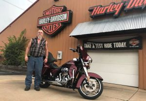 Don and his Street Glide!
