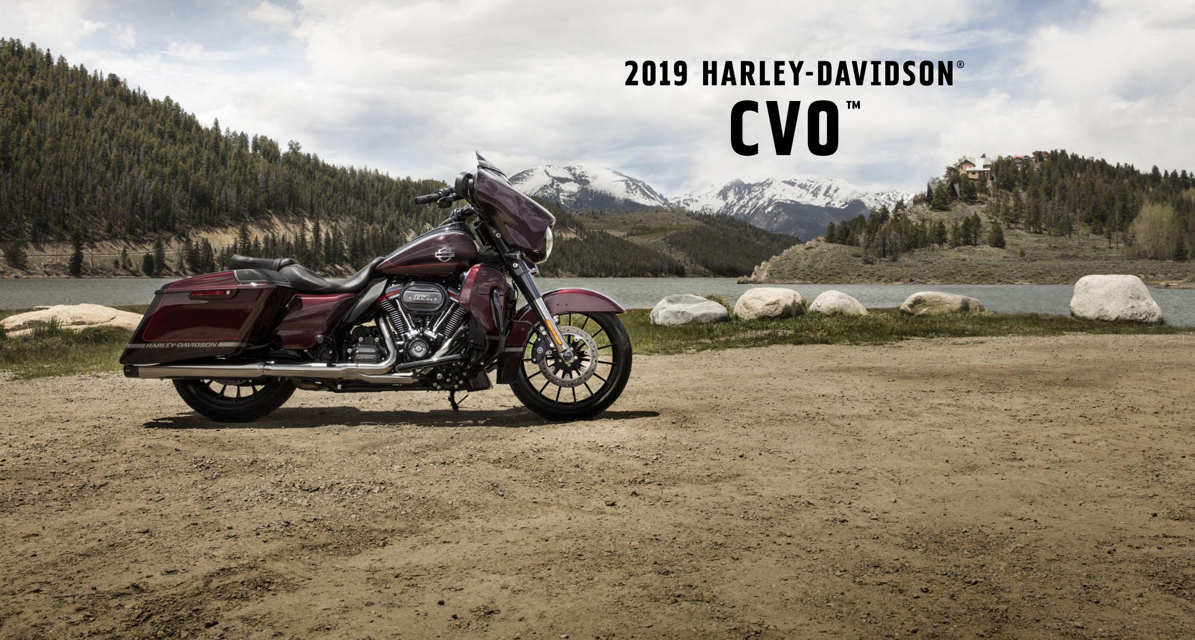 CVO™ - Motocykle 2019