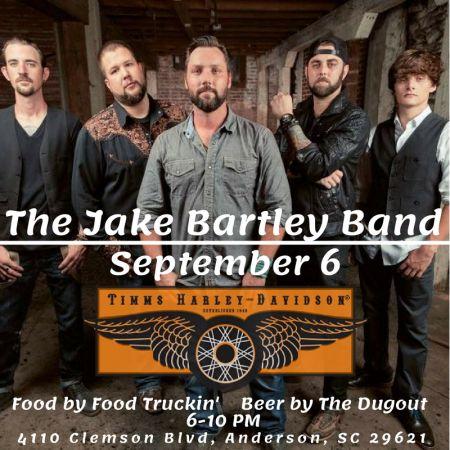 Bike Night With The Jake Bartley Band Timms Harley Davidson