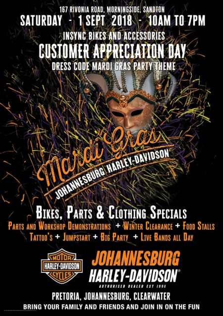 Insync Bikes and Accessories Customer Appreciation Day – 1 Sept 2018
