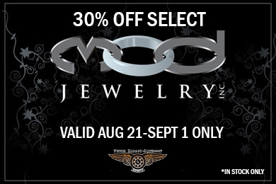 30% Off Select MOD Jewelry