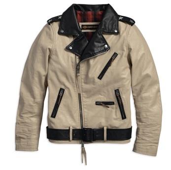 Nataliya Leather Biker Jacket