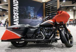 2019 модельный год Harley-Davidson в Сан-Диего.