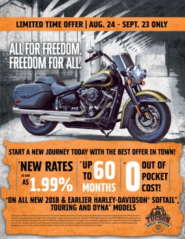 Limited Time Financing Offer