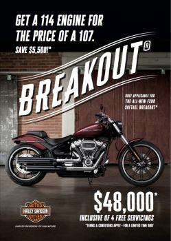 Softail Breakout 114 for the price of a 107