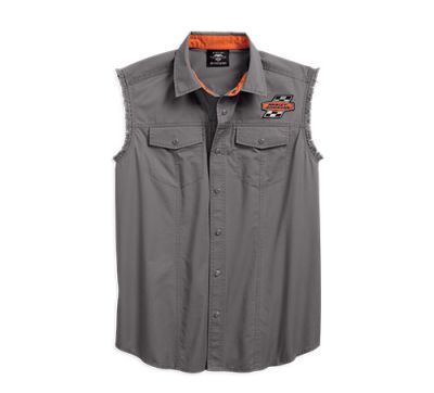 Mens Charcoal Screamin' Eagle® Blowout
