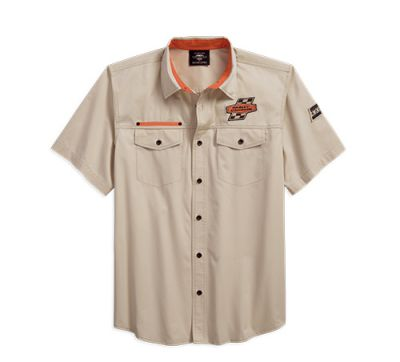 Mens Stone Screamin' Eagle® Twill Shirt