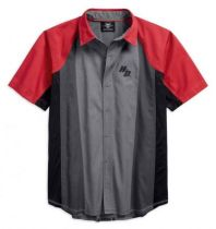 Performance Vented Color block Shirt